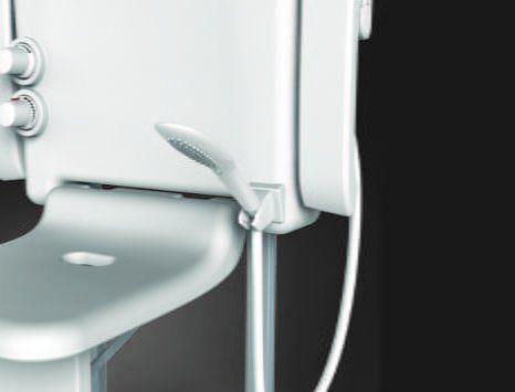 Agrow Corporation | sitting shower hand shower